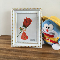 4x6 5x7 6x8 Rose Flower Picture Frame Engraved Photo Frames Wholesale