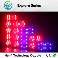 red integrated 250w 6th generation led grow light with full spectrum IR UV spectrum growth lamps led 1200w 5w chips