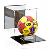 Cheap Store Clear Sport Acrylic Cases, Small Custom Plexiglass Retail Football Display Cases Wholesale