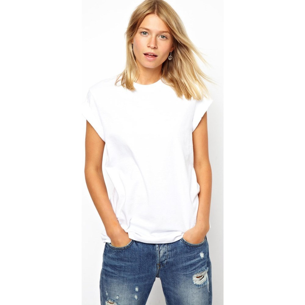 T shirt white woman - Simple Blank Women T Shirts In White Buy Blank Women T Shirts Plain White T Shirts Cheap White T Shirts In Bulk Product On Alibaba Com