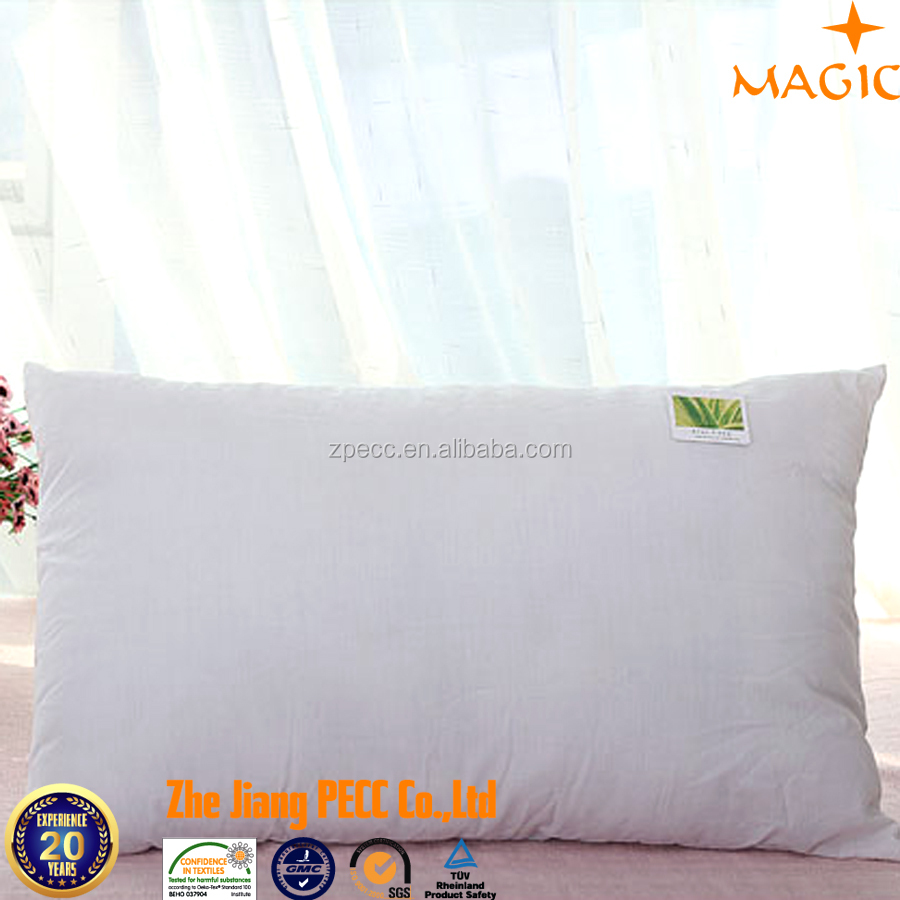 Alibaba Supplier Hotel Duck Feather Pillow