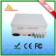 4E1 PDH converter fiber optic multiplexer