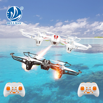 Professional Design 2.4GHz RC Battle Fight Drones 6-Axis Gyro 360 Degree Rolling Battle Drones One Key Return Headless Mode