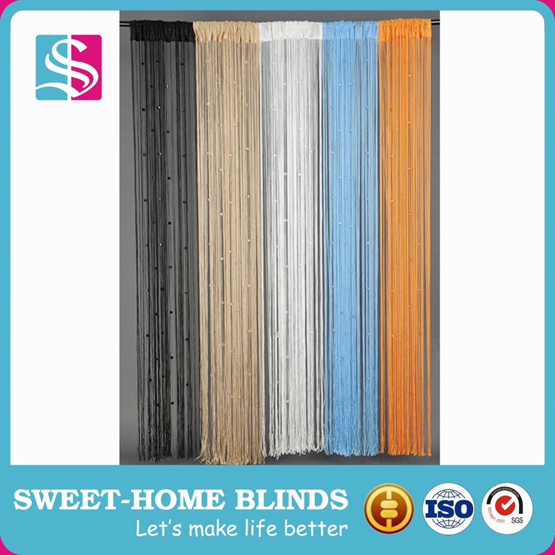 string window curtain for home decoration