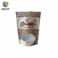 100% Natural Cookiko Choco Granola Resealable Zipper 500g Bag /Snack Food Packaging Bag With Window