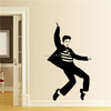ZOOYOO custom wall decals wallpaper for sale removable wallpaper wall stickers DIY wall decoration rock star (Elvis13)