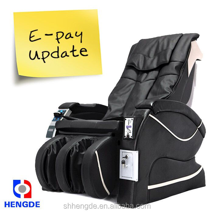 2016 Best Selling Coin Operation Vending Massage Chair / credit card vending massage chair