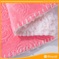 Top level Roll up New design faux shearling fabric