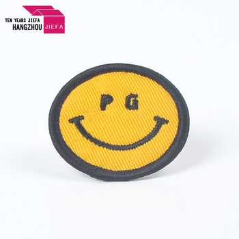 High quality polyester 3d embroidery Woven patch