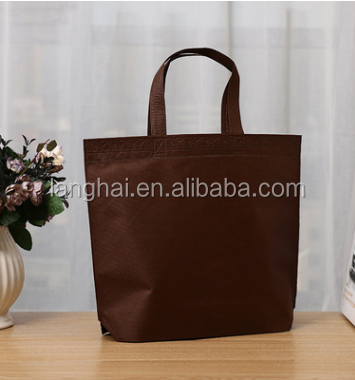 OEM Production Recyclable P-P Non Woven Bag,Promotional custom shopping bags non woven bag with print logo