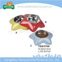 Colorful wholesale stainless steel dog bowl