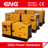 low fuel consumption 48kw prime power generator soundproof type