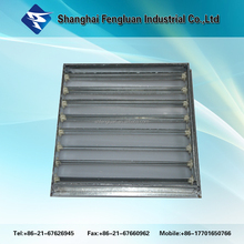 HVAC system Aluminum ceiling air ventilation air duct grilles with damper
