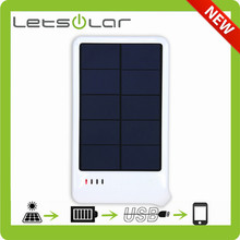 universal mobile phone use solar charger battery bank
