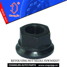 40Cr Wheel Locking Nut for Commercial Vehicles