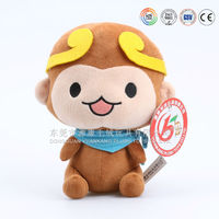 Stuffed & plush toy animal with Ribbons and clothes