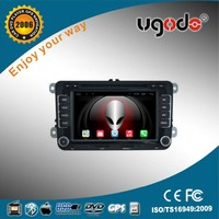 Hot Sale android 7'' 2 din in-dash car dvd player radio bluetooth gps for 2010 VW Polo