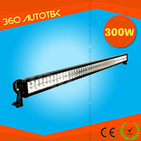 "factory direct sell 300W 50"" led light bar for off road 4x4,SUV,ATV,4WD,truck"