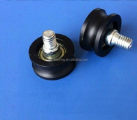 OEM Plastic pulley wheel with screw