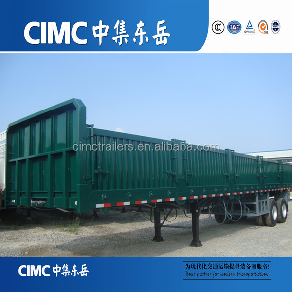 CIMC 3 Axles Camper Camping Sidewall Semi Trailer