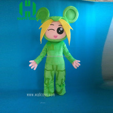 Custom Japanese anime movie cartoon character mascot costumes for sale