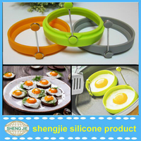 Silicone Egg Mold / Silicone Egg Pancake Cookie Ring / Egg Former