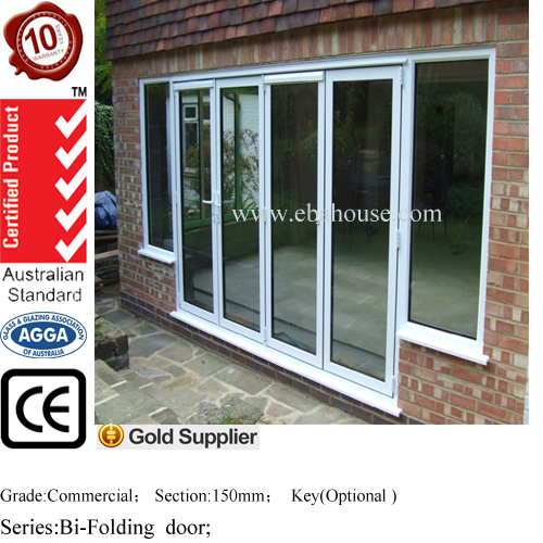 steel security door thermal break aluminum glass door with screen door main gate design
