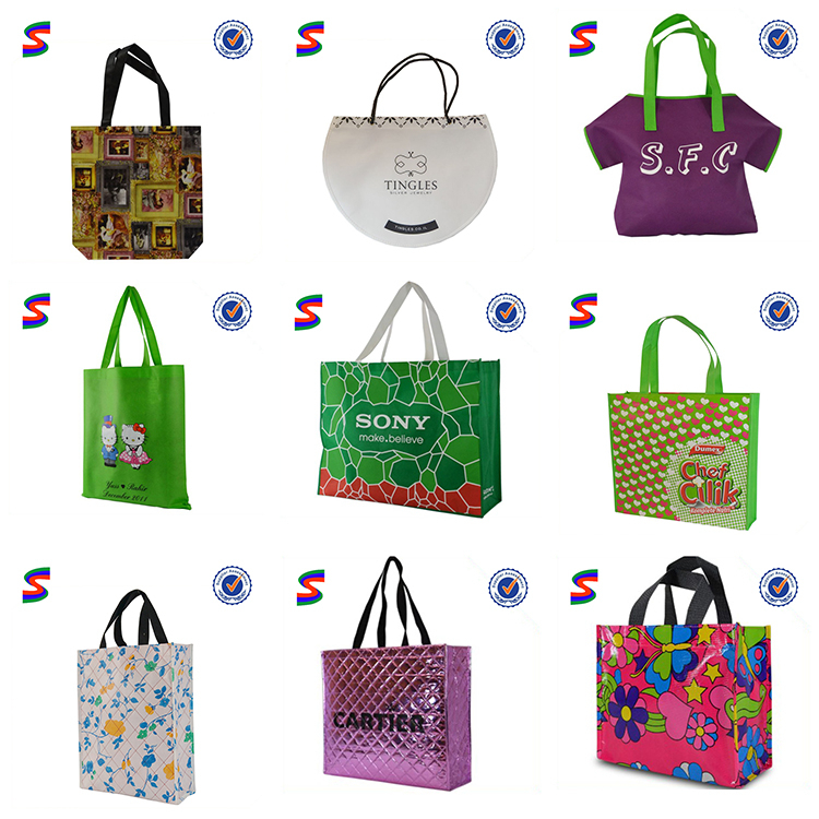 Photo Nonwoven Bags Non Woven Carry Shopping Bag