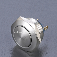 Sell metal push button switch, metal illuminated on off anti-vandal switch