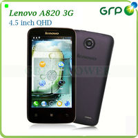 Original cheap price Lenovo A820 mobilephones 4.5 Inch IPS android 4.1 MTK6589 Quad-core 1.2GHz 1GB RAM avalible in China