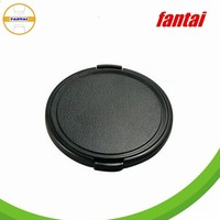 Snap on lens cap 40.5mm, plastic camera len cover in black colour, black camera lens cover