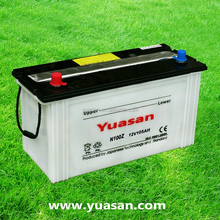 Yuasan Advanced Lead Acid Car Battery 12V 105AH Dry Charged Automotive Battery -N100Z