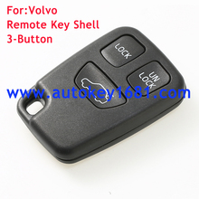3button remote key shell for volvo car key case cover