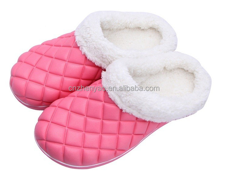 china footwear winter warm clogs fur lining clogs good quality