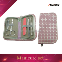 MS1680 promotion hot sale pedicure girls disposable manicure kit