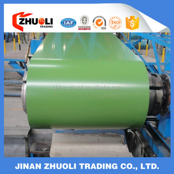 PPGL color coated galvanized steel sheet in coil Rolls