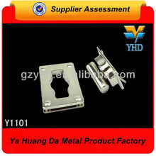 shinny zinc alloy bag locks and clasps