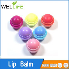 factory wholesales promotion Plastic Tin Best With SPF 15 Fruity Berry Honey Peppermint Lip Balm