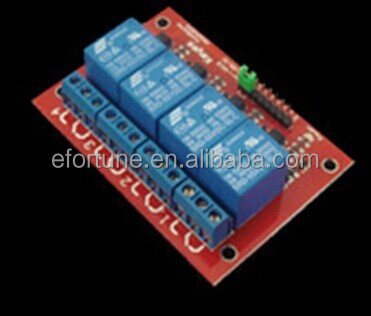 Eight red road with isolated relay module KS24