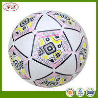 PVC machine stitched FIFA standard soccer balls for UEFA Champions League