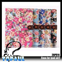Wholesale stand laptop touchpad cover skin for ipad5 with buckle