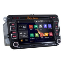 Android 4.4.4 car Stereo mp3 player Car DVD Player car gps navigation for Polo/Golf Seat Skoda