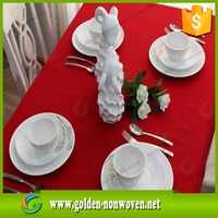 Polypropylene material tnt non woven tablecloth/Wholesale manufacturer colorido spunbonded pp tnt fabric tablecloth roll