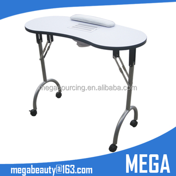 Portable Manicure Table With Dust Collector