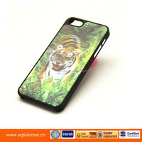 3d silicon animal case for iphone 5/5s, hot sale mobile phone protective case