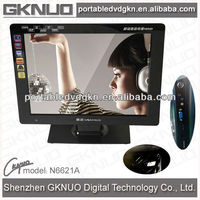 Mobile TV DVD With Media Copy Function