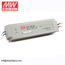 Mean Well DC 5V 10A Power Supply 60W LED Driver LPV-100-5 IP67