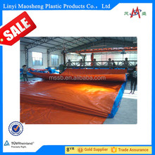 Good quality China HDPE green sliver pe pp tarpaulin sheeting