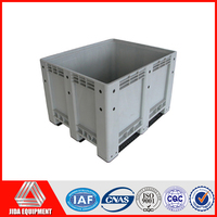 PLASTIC STORAGE PALLET BOX CONTAINER 1000KG CAPACITY