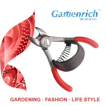RG1102 Gardenrich Professional Forged Orange Pruners